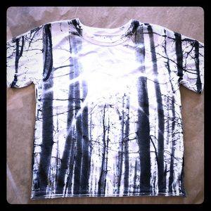 Sunblast black & white forest.